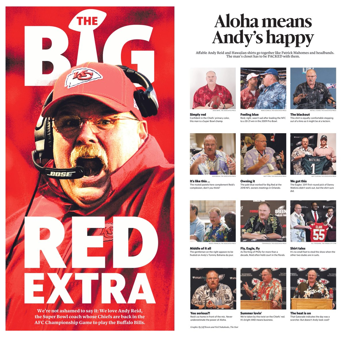 Special sections coming in Sunday's @KCStar: our ode to Andrew Walter Reid, better known as Andy, best known as head coach of the Kansas City Chiefs and Super Bowl champion.