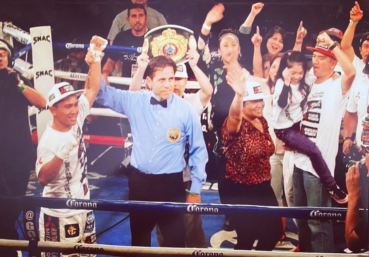 #TBT victory celebration back in 2014 at the Longshoremen's Hall in San Francisco. My family and #teaMGesta joined me in the ring after I won by TKO over Luis Arceo. #Memories #GoldenBoyBoxing    #love #throwbackthursday  #photooftheday #MercitoGesta   @goldenboy @WildCardBoxing1