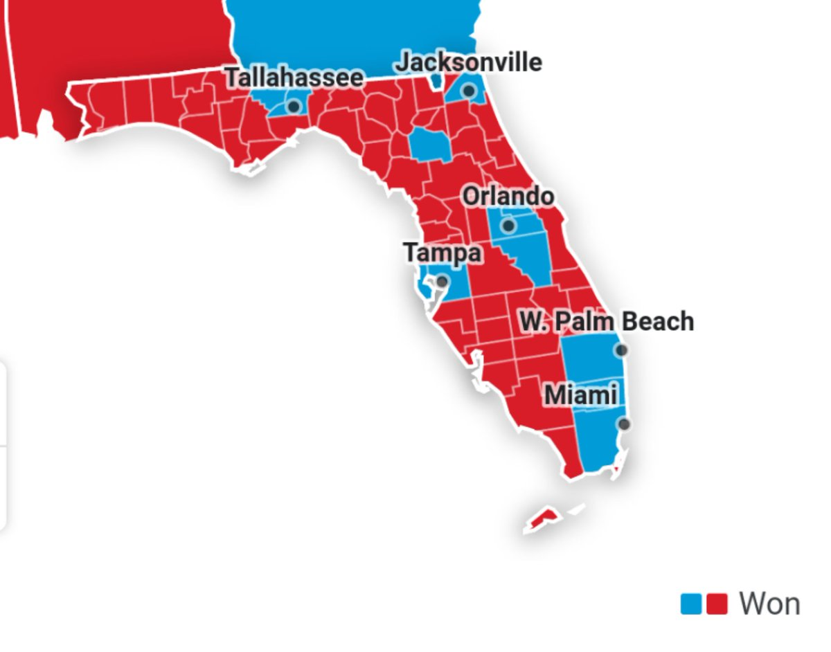 @JasonMillerinDC Facts say otherwise, dumbass! Palm Beach County voted Biden! All of the places Trump has lived voted for Biden.   Only the places and people Trump hates voted for him. 😂😂😂🤪  #Cult45