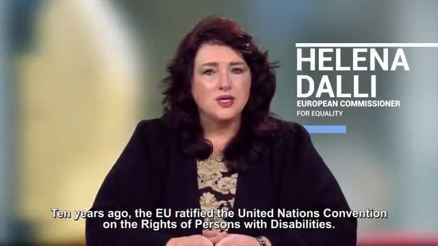 You have a right to equal opportunities! 10 years ago, the EU ratified the @UN Convention on the Rights of Persons with Disabilities. Soon we will present a new strategy to strengthen the rights of people with disabilities and leave no one behind. #UnionOfEquality @helenadalli
