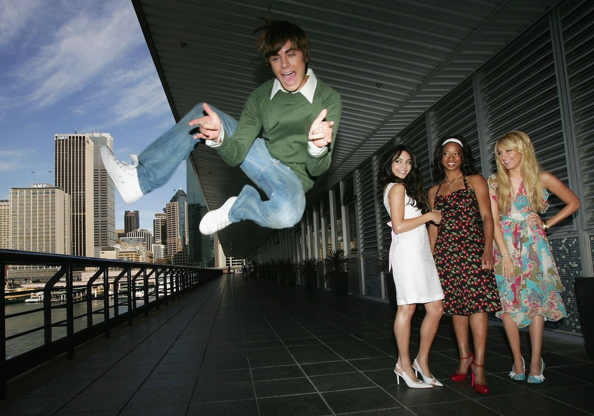 Exactly how I feel about #HighSchoolMusical premiering 15 years ago this week: