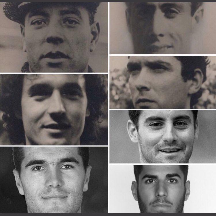 Zamora, Pahiño, Villar, Serna, Ito Álvarez, Unai Vergara y Marco Asensio son los compañeros de la Asociación que nacieron tal día como hoy.  #SelecciónLeyendas @aedfi_ES @rfef @SeFutbol #SomosFamilia #SomosFútbol⚽️