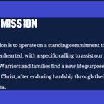 Image for the Tweet beginning: Mighty Oaks Warrior Programs is