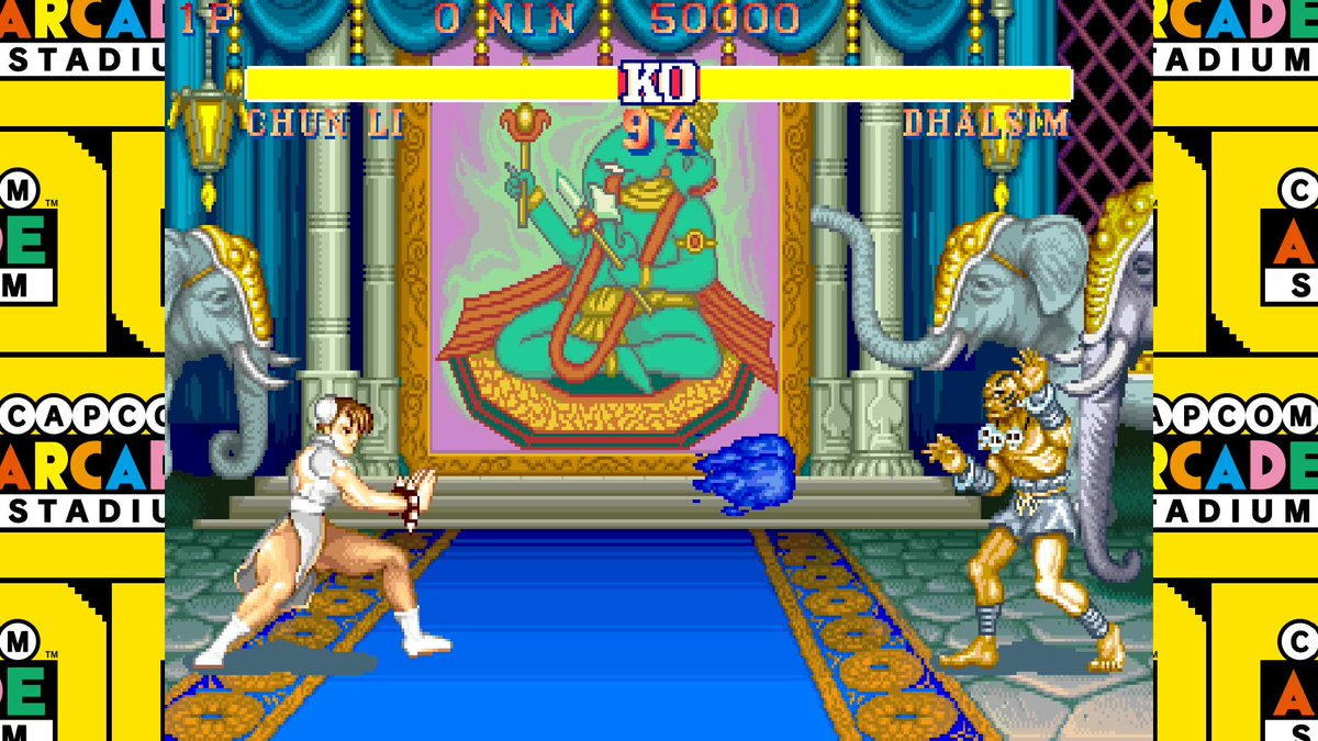 Did you know Chun-Li first got her Kikoken fireball in Street Fighter II: Hyper Fighting? It's hard to imagine her without it...🤔  Capcom Arcade Stadium 🕹️ coming to #NintendoSwitch this February!