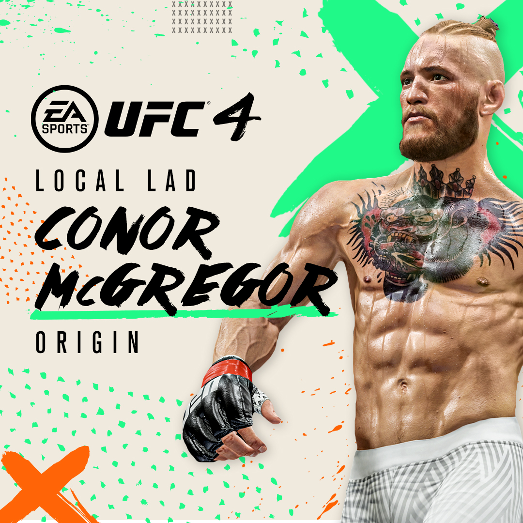 From local lad to UFC superstar, the King is back 🔥  Celebrate Conor's return the octagon with a new fighter model and more in #UFC4 🎮  Learn more 👉