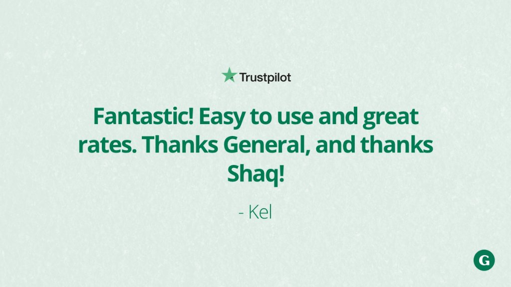You are so welcome! 👊  #RideWithTheGeneral  Want to see what others have to say? See all the reviews: