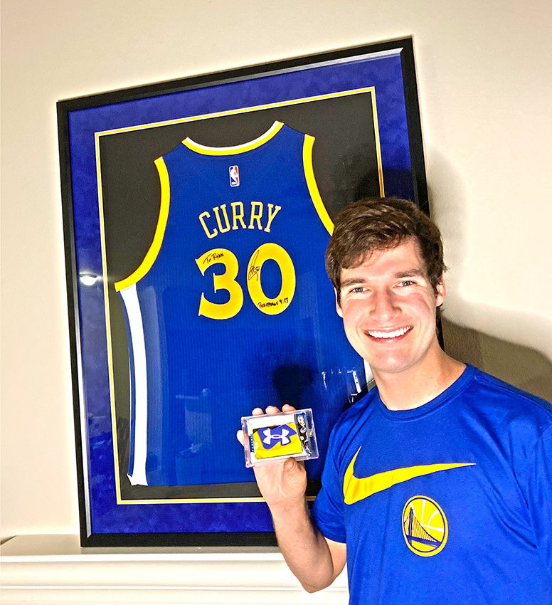 Favoring Curry: California collector @zoso56 shares the passion behind his @StephenCurry30 collection.  #WhoDoYouCollect | #DubNation  #NBA