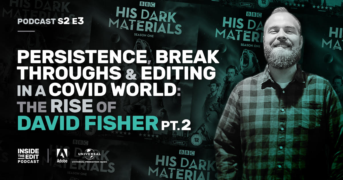 This week's show is the concluding part of our talk with the very talented @davidjfisher8. David recently cut the big-budget fantasy drama series, #hisdarkmaterials  for @HBO @BBCOne but earned his spurs on many long-running dramas and soaps on UK TV.