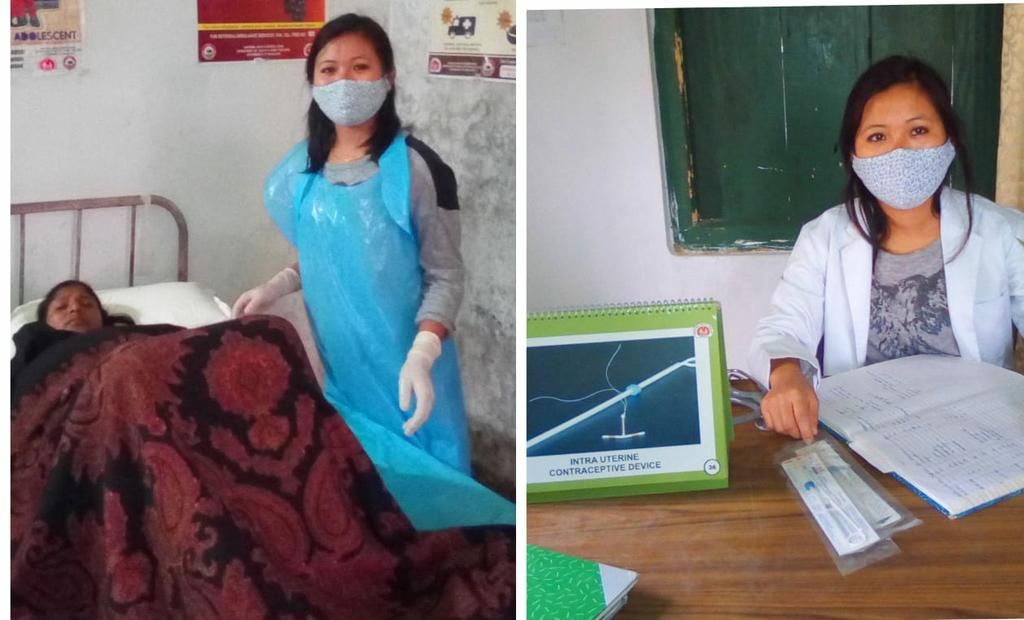 Empowering women to take decisions regarding their own bodies!  IUCD insertion conducted post delivery by Moanungla, CHO at Longpayimsen in Nagaland  #HealthForAll @MoHFW_INDIA @usaid_india @NNagaland @NagalandNhm