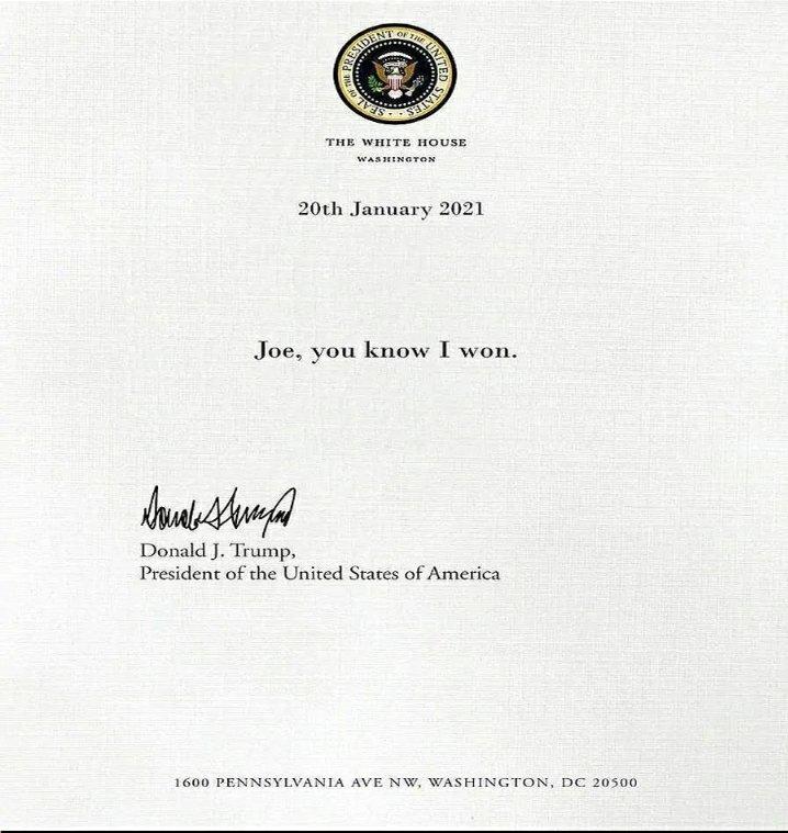 #DonaldTrump you really need to move on now 😂😂😂  #JoeBiden  #USAElections2020  #USA  #TheWhiteHouse  #JoeBidenInauguration  #HarrisBiden  #realDonaldTrump #USPresident  #POTUS