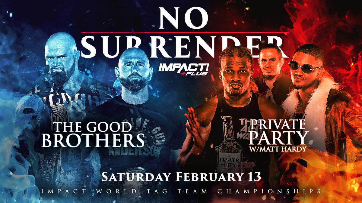 The Good Brothers vs Private Party Announced For No Surrender