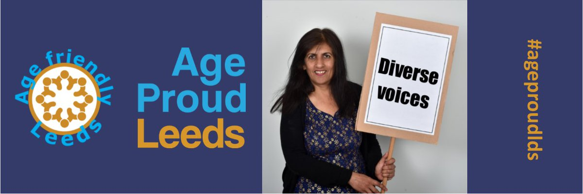 Diverse Voices is our new podcast in which people from diverse Leeds communities talk about ageism and discrimination. Part 1 out this Thursday. #ageproudlds @LeedsOPF @leedslibraries @nhsleeds @Ageing_Better @BetterLivesLDS @LeedsHospitals @AgeFriendlyLDS