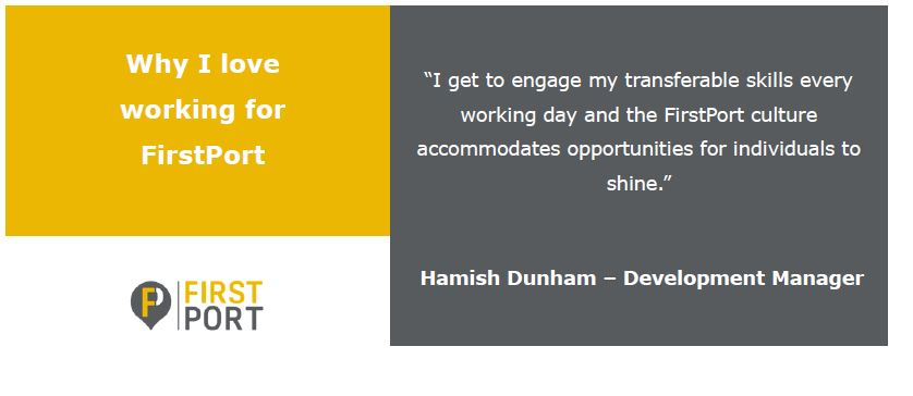 On our penultimate day, Hamish Dunham, Development Manager based in Somerset who joined us recently from the Civil Service shares why he loves working with us. If you're interested in exploring what a Development Manager does, check out  for more info.