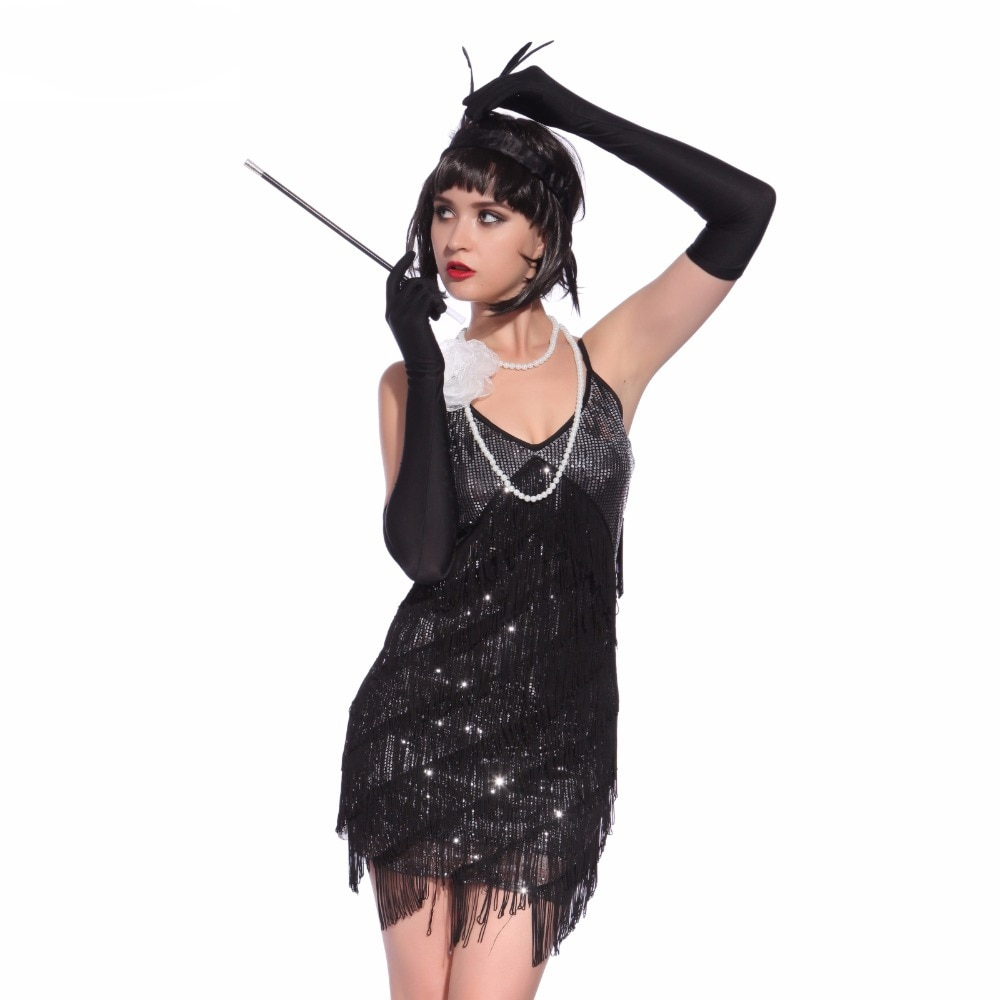 Women's Great Gatsby Sequined Dress #girls #fashionblogger