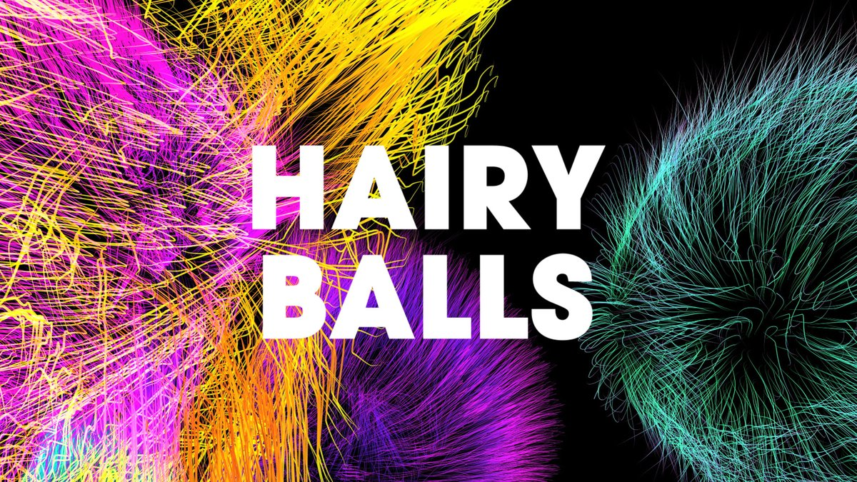 🔔New Pack Alert! Hairy Balls  Visuals by ramkraak #vjloops #animation #motiongraphics #hair #particles #texture #C4D #cinema4D #3D #visuals #hairy #sphere #balls #video #vj #loops #backgrounds #CGI #VFX #videoproduction #swipe #abstract #motiondesign