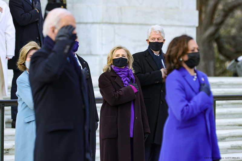 Right now, our country needs caring, compassionate leaders who will act in service of everyone in America, not just those who voted for them. There's nobody better suited to this moment than @JoeBiden & @KamalaHarris. Wishing you a good first full day at the new job, my friends.