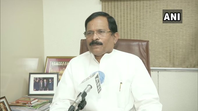 Union Minister Shripad Naik is recovering well and his general condition is improving. All his vital parameters are stable: Goa Medical College  (File pic) https://t.co/tcQthUev5D