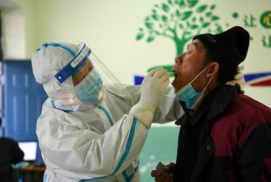 China has ramped up epidemic prevention and control efforts in its rural areas to cope with the heightened transmission risk that comes with the mass migration during the upcoming Spring Festival holiday season