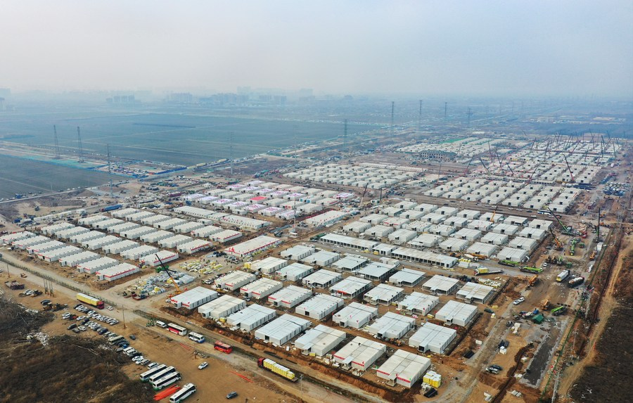 North China's Shijiazhuang sets up 458 quarantine centers to curb COVID-19