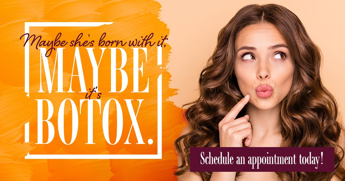 Maybe she's born with it, maybe it's BOTOX®. Request to schedule an appointment today @ https://t.co/Kgo1CToKqL #alamoheightsdermatology #sanantonio #texas #dermatology #botox https://t.co/n17oqXtnZQ