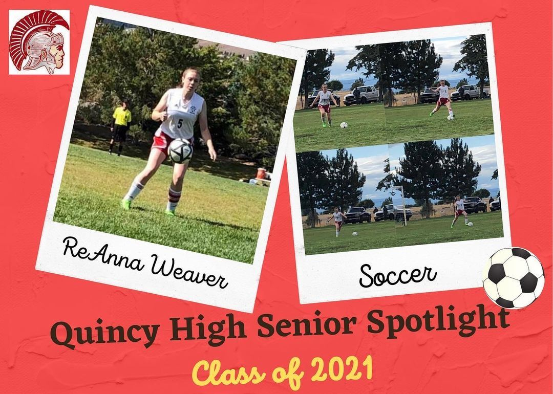 "Reposting @quincyhsathletics: ... ""Each Wednesday we will be highlighting an athlete in this year's senior class for #wallpaperwednesday. We begin with ReAnna Weaver. Thank you to @dfridart and her students for their artwork! #quincytrojans #gobigred #trojanpride"""