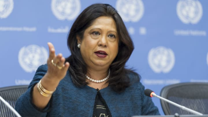 """""""I am greatly concerned by serious allegations of sexual violence in #Tigray region, #Ethiopia, including a high number of alleged rapes in #Mekelle. I call on all parties to commit to a zero-tolerance policy for such crimes,"""" -- Pramila Patten, UN Special Rep to @endrapeinwar"""