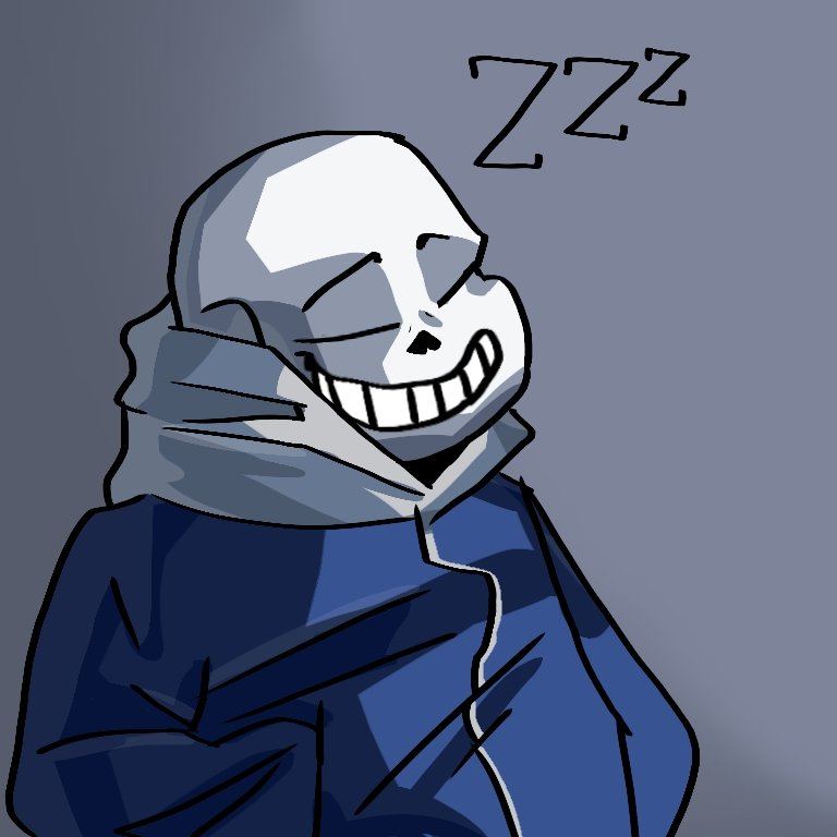Replying to @GRubsty: i drew sans from toby fox's 2015 hit indie game undertale