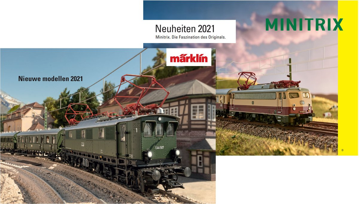 test Twitter Media - De Märklin en Minitrix nieuwtjes voor 2021 staan op de website! https://t.co/JgjSiatq7x https://t.co/4nHVaKYiki https://t.co/nYwHSimlre