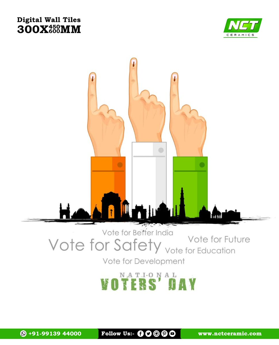 National Voter's Day or Rashtriya Matdata Diwas is celebrated to encourage young voters to take part in the political process. #voter  #nationalvotersday  #nationalvoterregistrationday