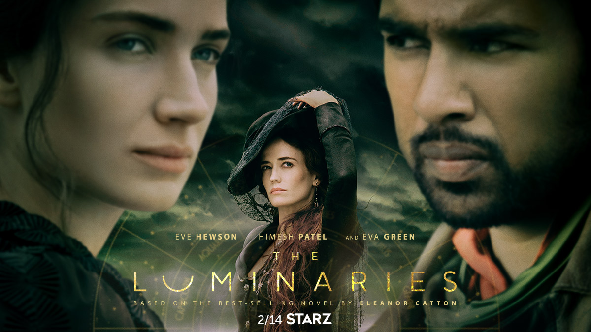 Your fate is written in the stars. Don't miss the premiere of #TheLuminaries this Valentine's Day on #STARZ.