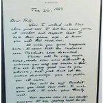 Image for the Tweet beginning: The power of a handwritten