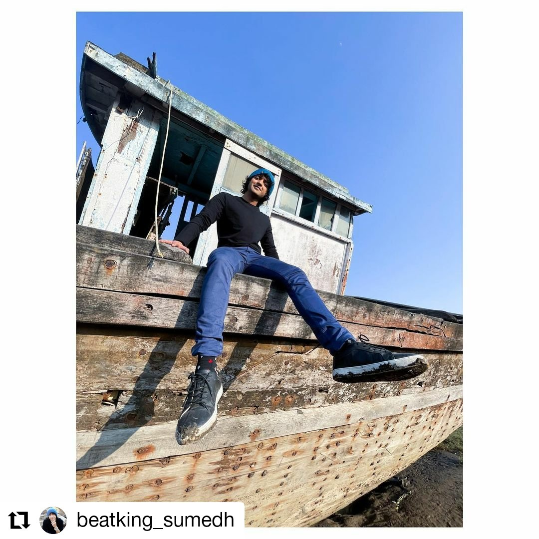 #Repost @beatking_sumedh • • • • • • Thats why we call it #theblueboatseries - 2 💛 Shoes suffered tho.
