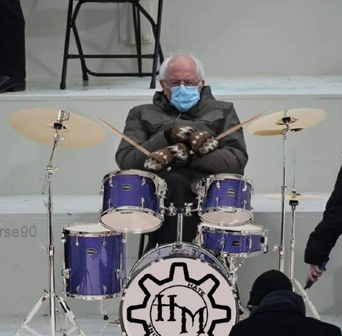 Unfortunately I have to step down as the drummer. Dave has found a replacement.  -Chad #wednesdaythought #BernieSanders #berniesandersmeme @SenSanders #Metal #MetalMusic #drummer