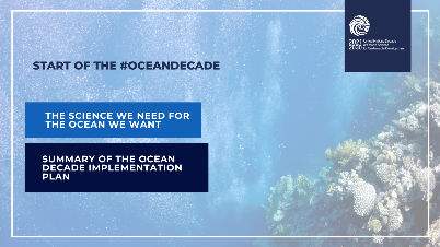 The #OceanDecade will generate the data, ℹ️ information & knowledge💡 needed for more robust science-informed policies & stronger 📚science-policy interfaces at 🌎global, regional, national & even local levels. #SDG14 #GlobalGoals #Ocean #ClimateAction  🌊