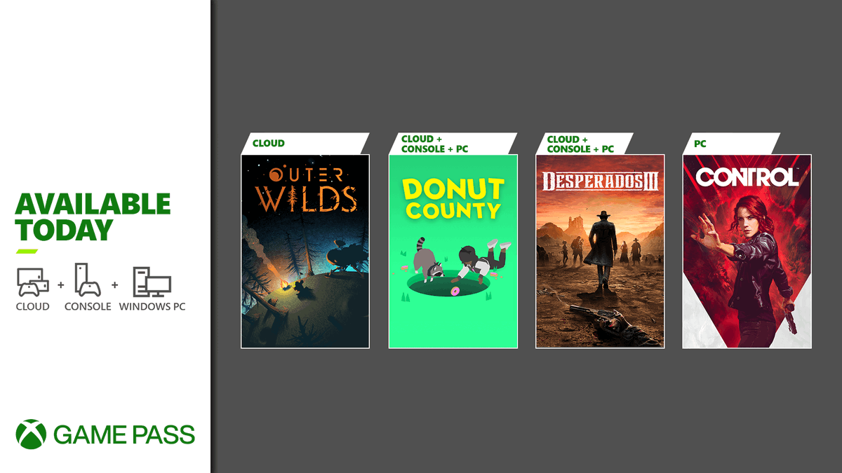 We added stuff today (spoiler: they're games)