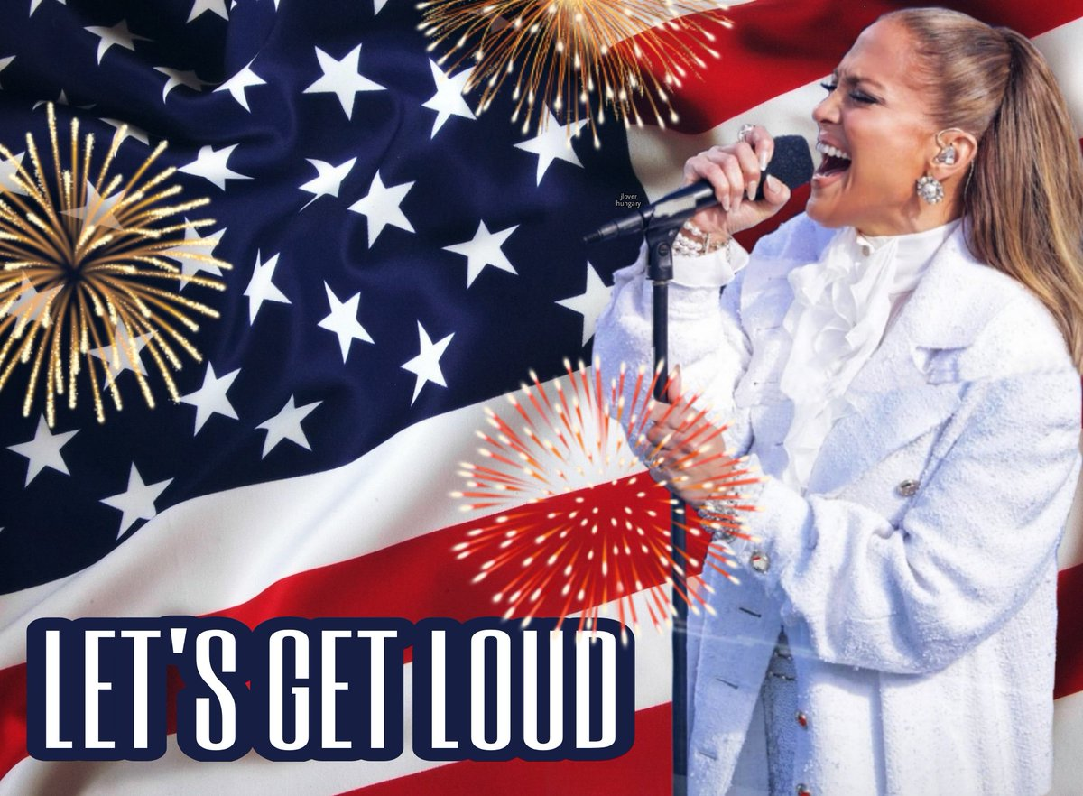 let's get loud🇺🇸 @JLo #JLo #JenniferLopez #jlobeauty #Inauguration2021 #Inauguration #InaugurationDay2021 #InaugurationDay #usacapitol #Capitol