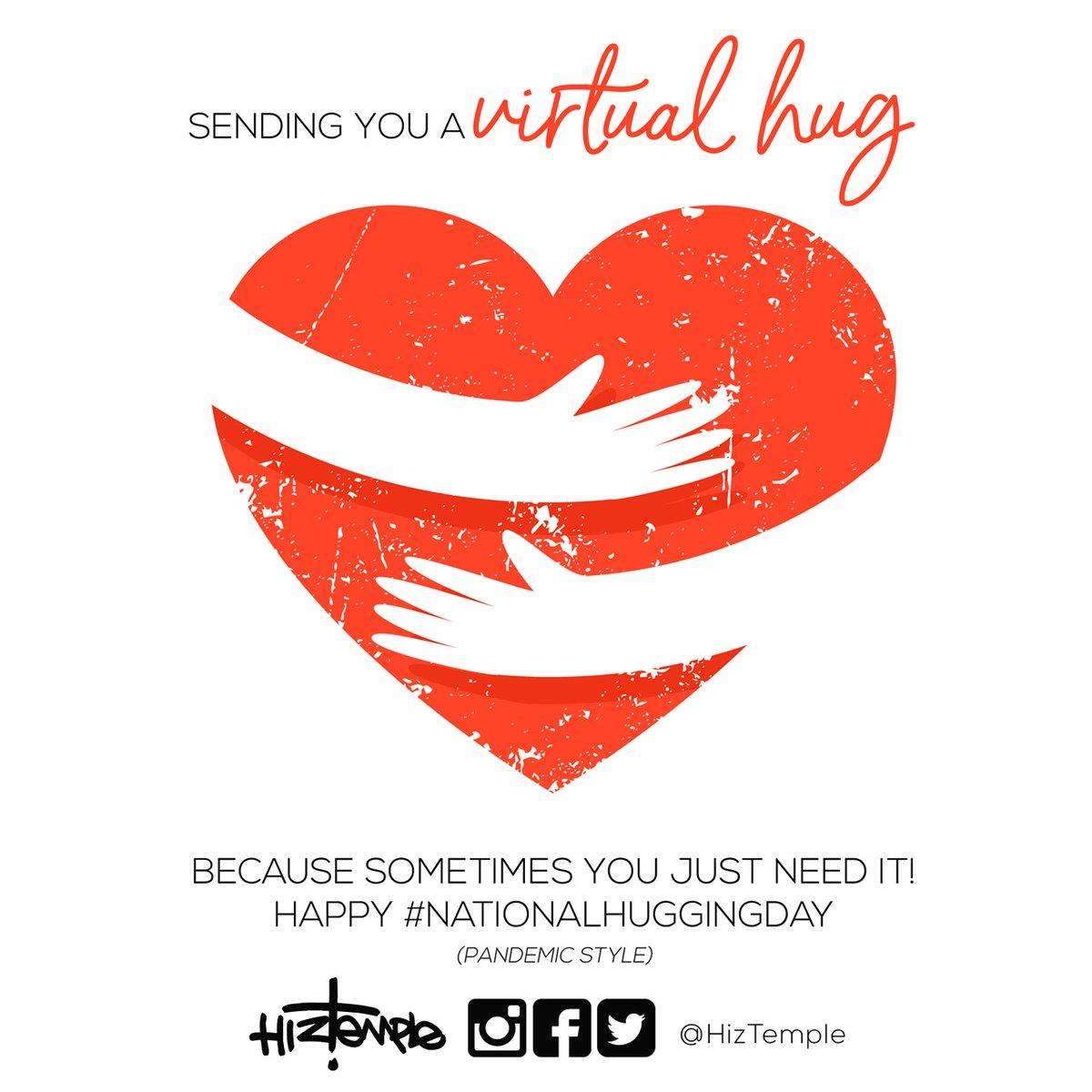 "As @jerzeegurl1908 would always say, ""Consider yourself hugged"". Happy #NationalHuggingDay #PandemicStyle #hiztemple #love #beauty #childrensbooks #whatdoeslovelooklike #whatdoesbeautylooklike"