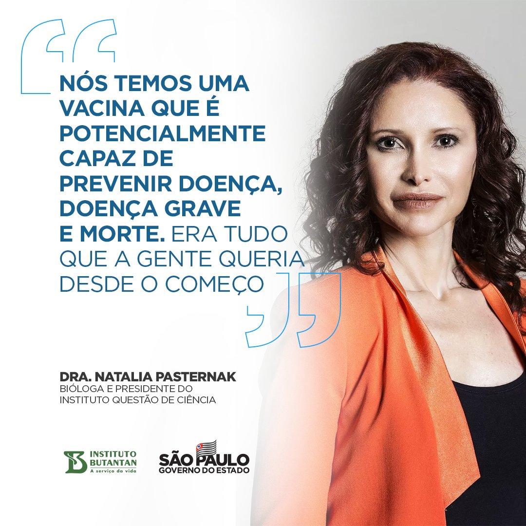 Os dados da eficácia da vacina do Butantan nortearão a vacinação em todo o País. Nossa missão agora é cativar as pessoas, chamar para a imunização. Vamos confiar, a vacina do Butantan é 100% a vacina do Brasil. #Vacina #Podeconfiar #EdoButantan #VacinadoButantan #Butantan120Anos
