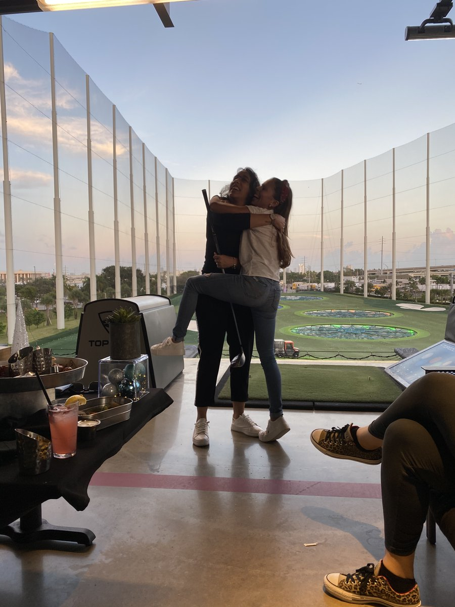 Since #NationalHuggingDay happened to land on #TBT, it's only right that we look back at this moment from our Miami office's lunch at @TopGolf in 2019.  We miss good times like these and look forward to our offices getting together again in the future!