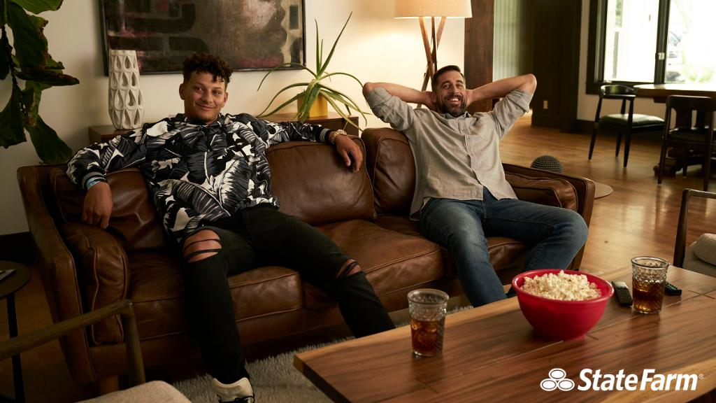 If you could have any celebrity at your playoff viewing party, who would you choose? 🏈 #TeamStateFarm
