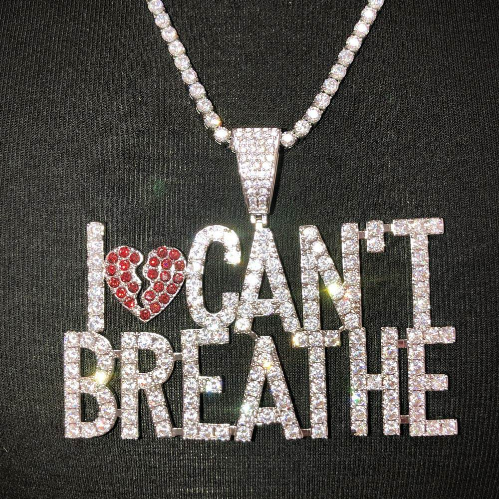 I Can't Breathe Bling Bling Hip Hop Pendant! Bling Bling All Day- 25% OFF EVERYTHING - PROMO CODE Save25 #hiphop #hiphopbling #bling #model #photooftheday #instagood #nofilter #tbt #igers #picoftheday #love #nature #swag #lifeisgood #caseofthemondays