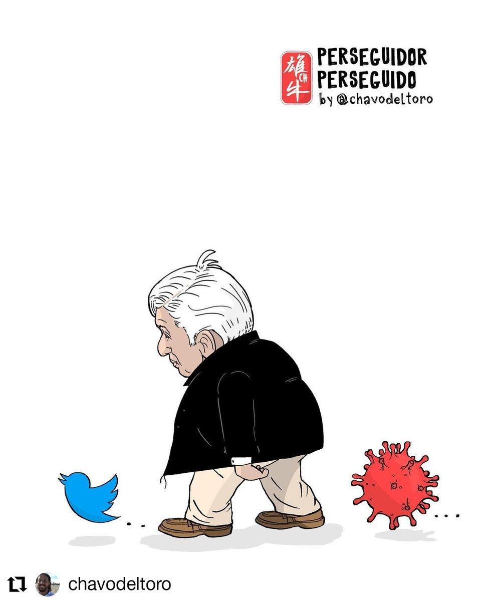 #Repost @chavodeltoro • • • • • • Perseguidor perseguido  @eleconomistamx @eleconomistafotografia #amlo #twitter #infodemia #fakenews #covid #coronvirus #censura #redessociales #benditasredes