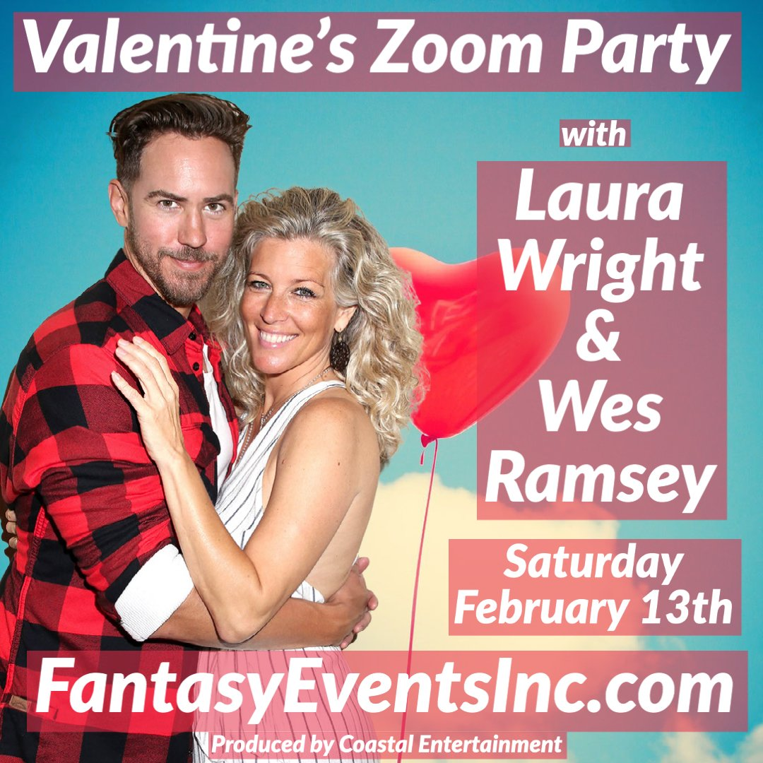 Spend the day before #ValentinesDay with @lldubs and @wesramsey, not many tickets left - Go to