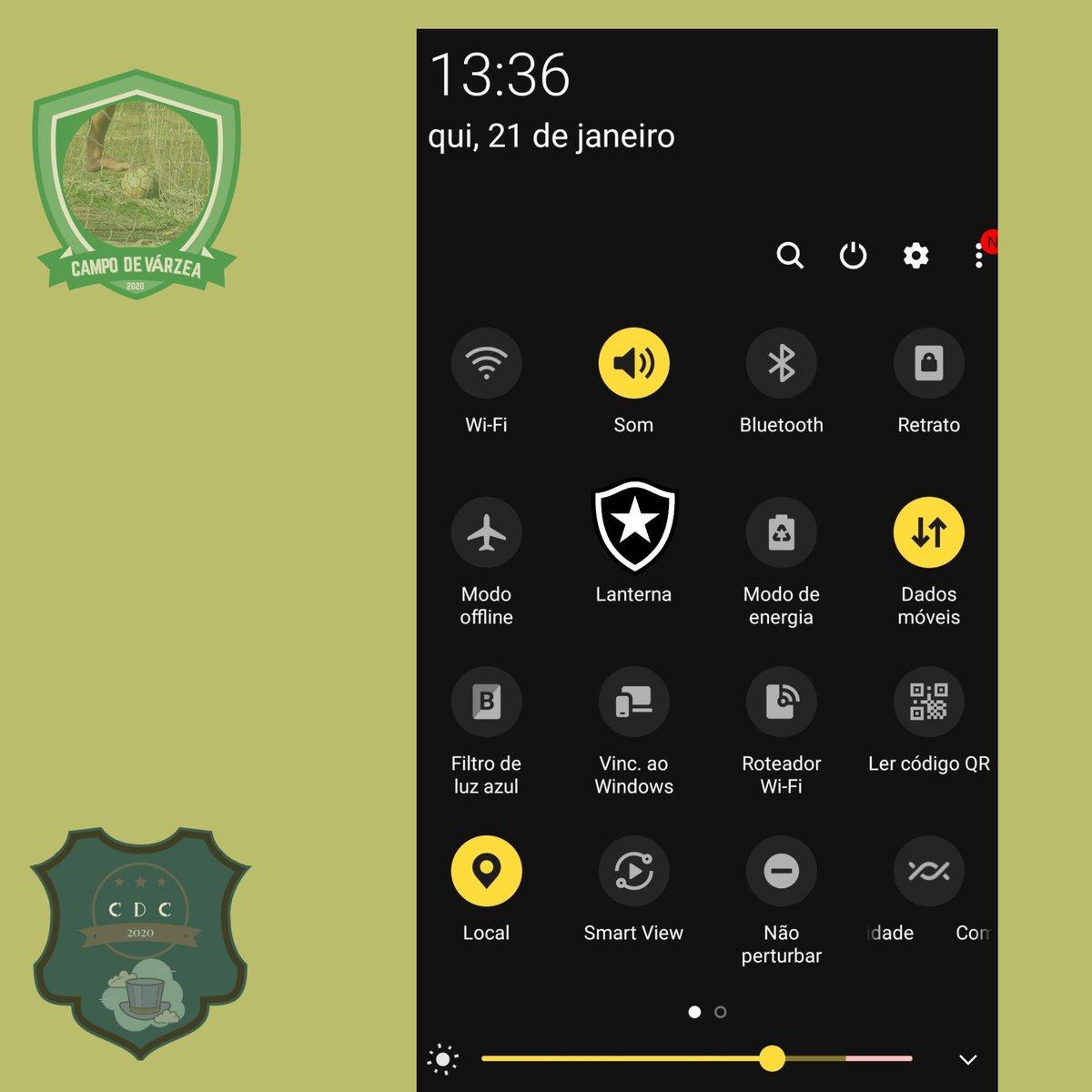 E apareceu uma atualização nova na laucher dos celulares. #Botafogo #SamsungUnpacked #GalaxyS21 #FLAxPAL