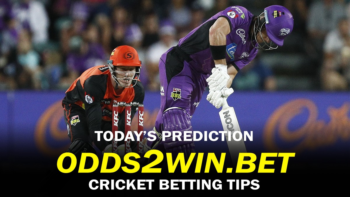 https://t.co/C9RyJpdbwV 🏏 TOP-SINGLE TIPS OF THE DAY 🏏  22/01/2021, at 05:05 GMT; 08:15 GMT;⠀ 🇦🇺  Big Bash League 2020-21  Hobart Hurricanes vs Perth Scorchers: Perth Scorchers To Win the Match @ 1.79 Sydney Sixers vs Sydney Thunder: Sydney Sixers To Win the Match @ 1.92  ⠀ https://t.co/qAN7smJjQY