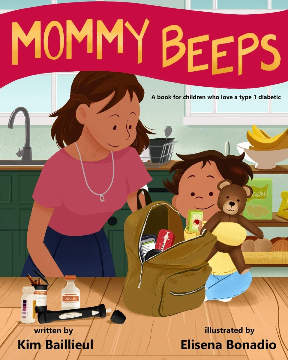 This book has been a valuable tool in teaching my son about my #type1diabetes.  #type1 #type1diabetes   @BeyondType1