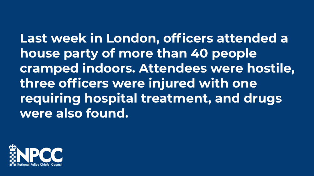 To illustrate what officers are having to deal with, here are some very disappointing examples [THREAD]