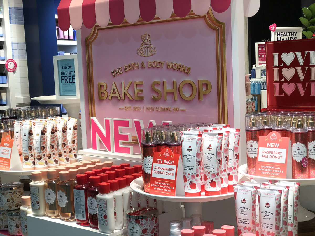 ❄️Winter blues? We are seeing signs of spring with the arrival of @bathbodyworks 🧁🍒🍩Bake Shop at Sunset Plaza!   #operationshoplocal #bakeshop #bathandbodyworks #ThursdayThoughts