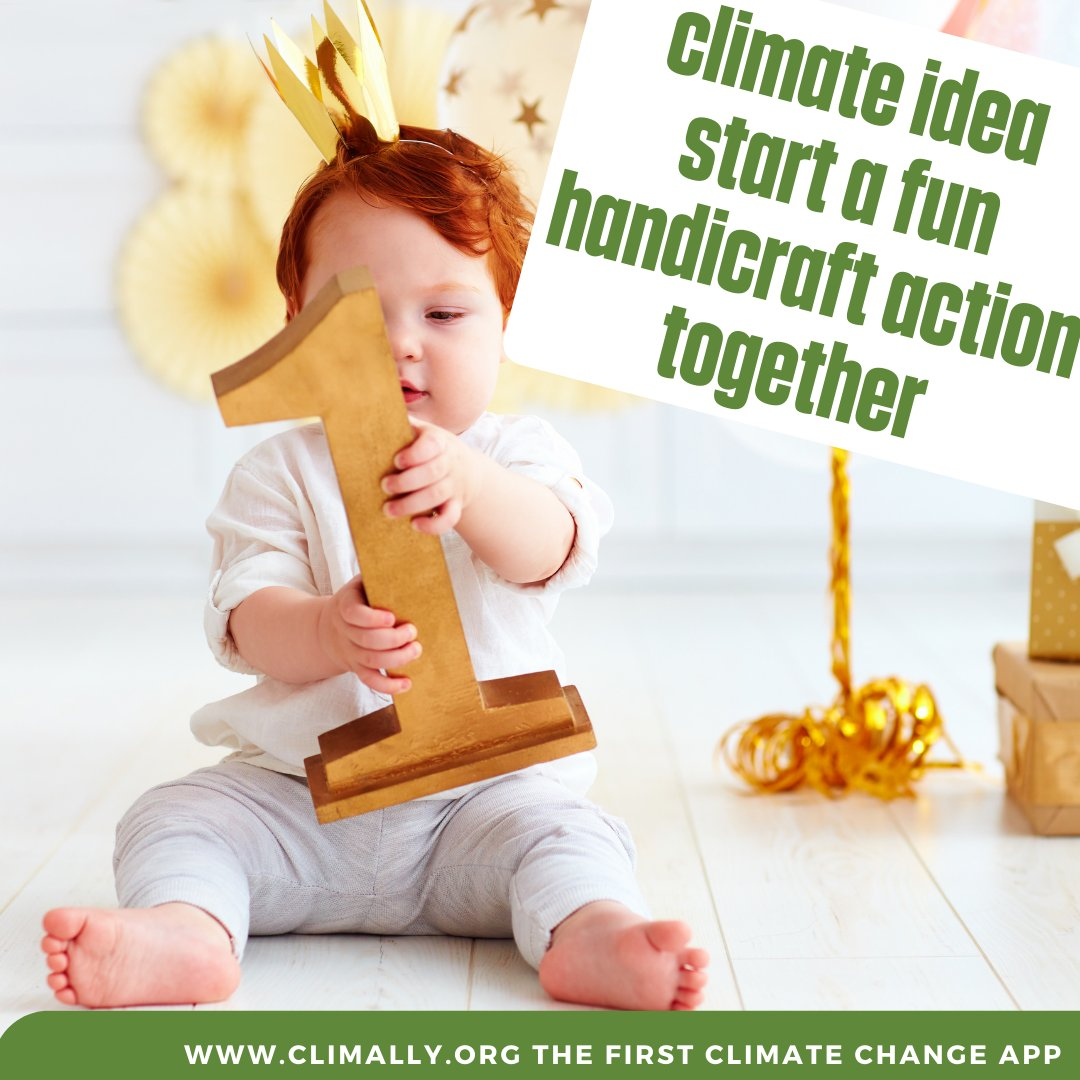 You can start a fun handicraft action together, where everyone can make their own gift out of materials you already have at home. This is fun and an additional challenge.   #climate #klima #umweltschutz #sustainable #climatestrike #ecofriendly #climateaction #climally #innovation https://t.co/NcI5IhfE04