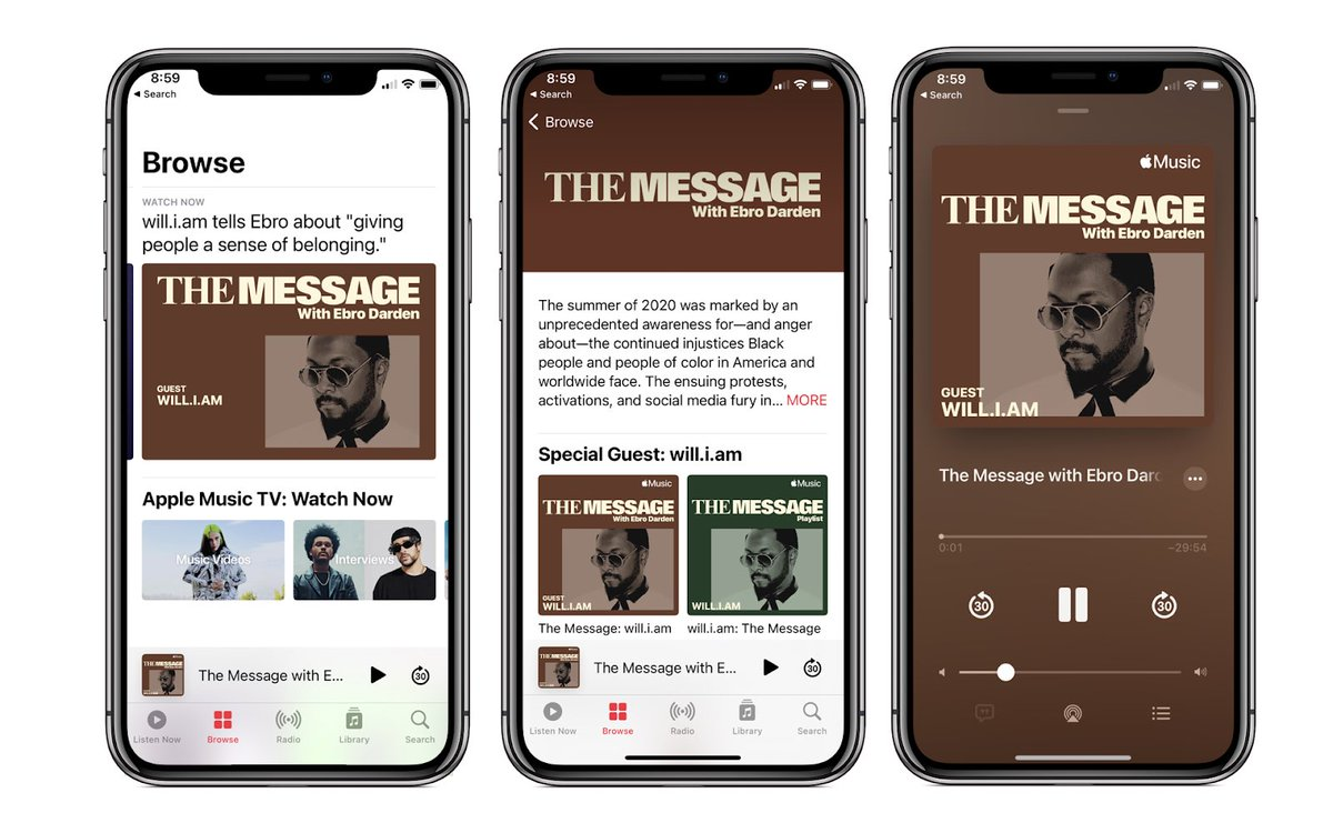 Join our founder @iamwill as he talks with @oldmanebro on #TheMessage. There, @iamwill breaks down and discusses the message he's sending out to his fans, his community and us, the  Angel Foundation. Now streaming on @applemusic